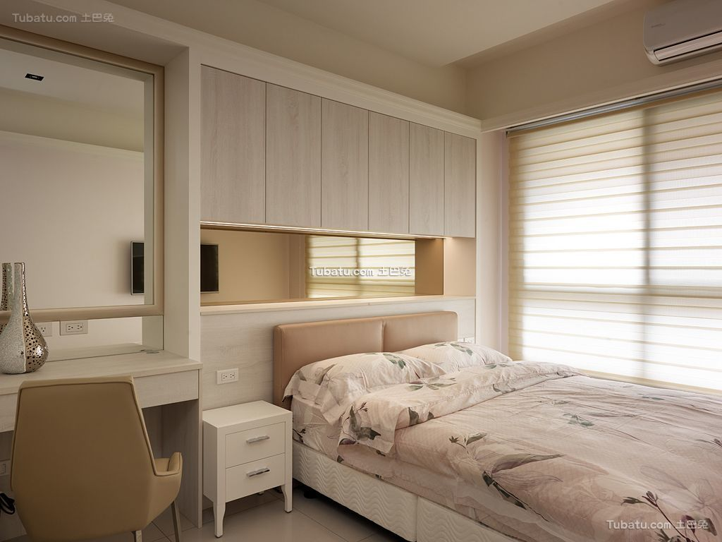 简约家居卧室设计效果图片
