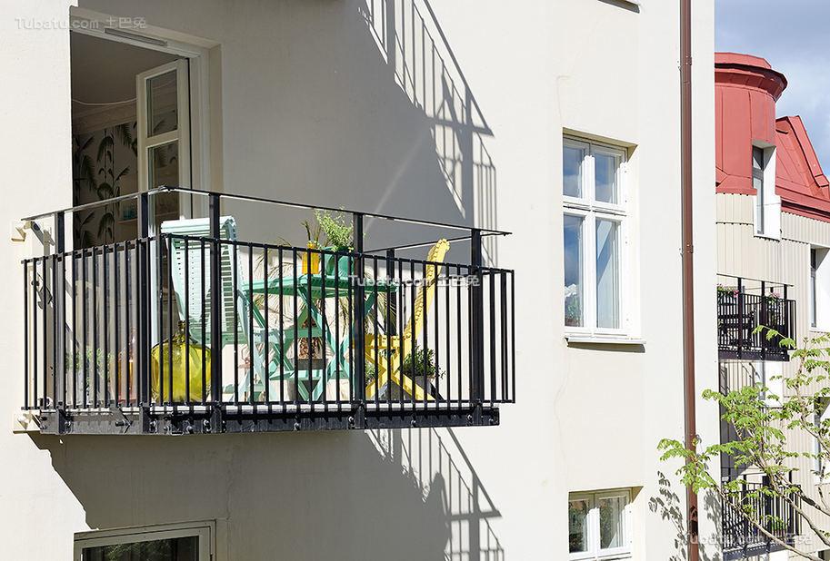 北欧清新家居阳台整体展示