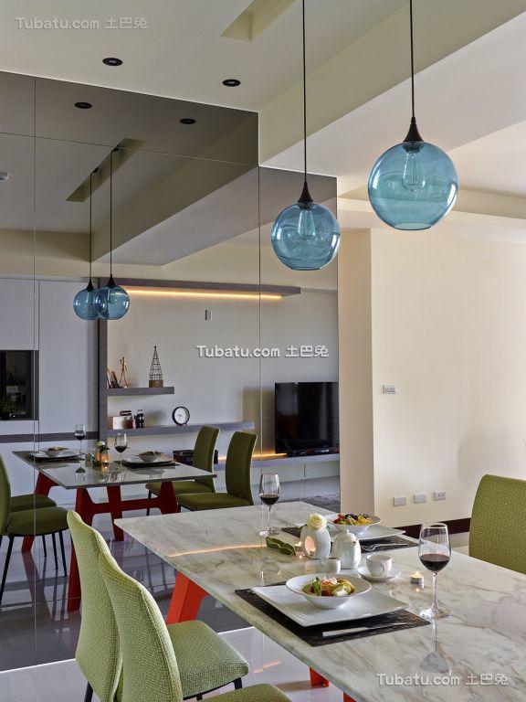 宜家设计小餐厅效果图装修