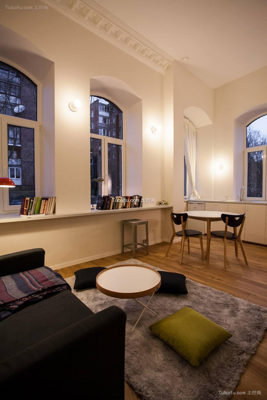 60平米精美现代公寓设计