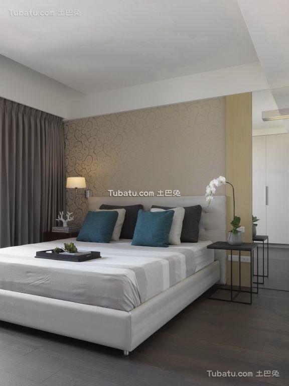 简约风格卧室家装设计效果图