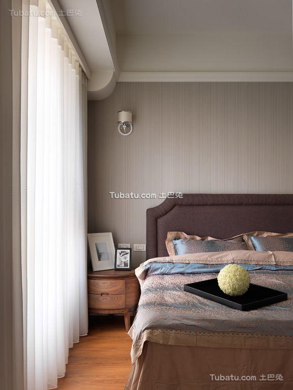 现代风格一居卧室家居效果图