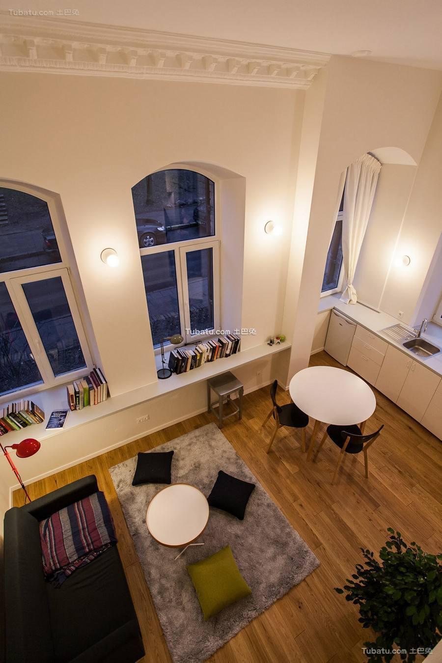 精美现代挑高客厅设计