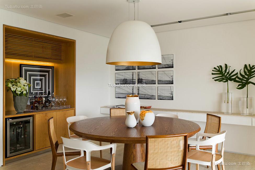 现代精致家居餐厅装修图片大全