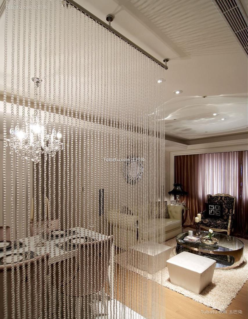 新古典室内家装隔断设计效果图