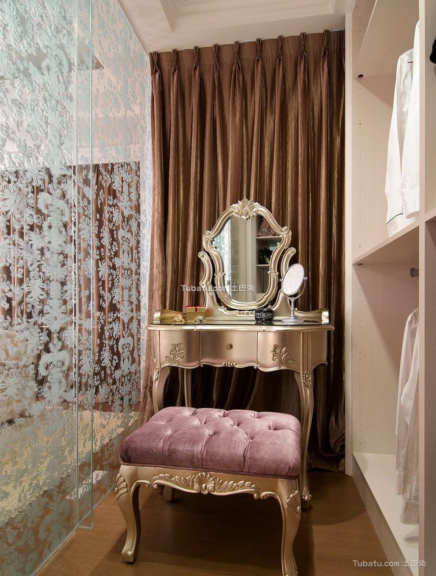 新古典衣帽间室内家居设计效果图