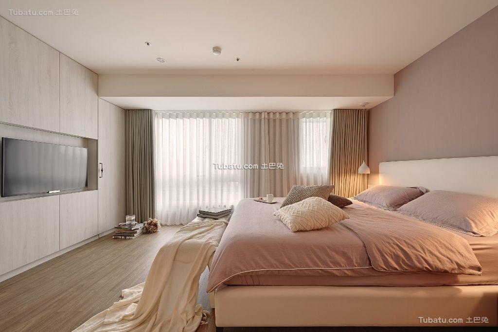 简易时尚卧室窗帘