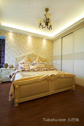 精致田园风格卧室装潢设计