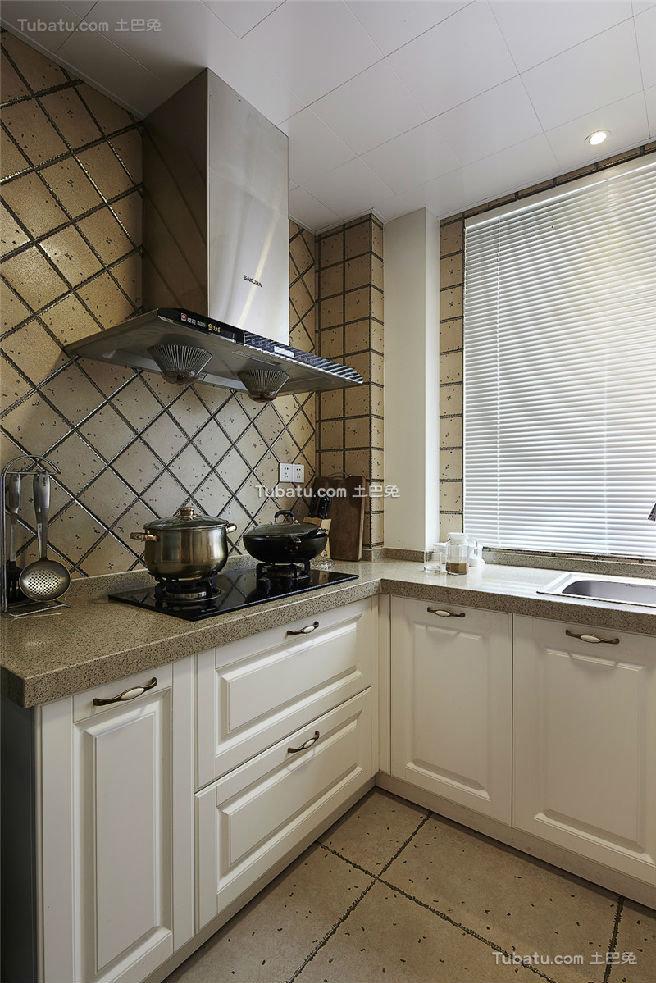 休闲美式厨房设计装潢