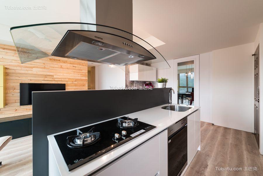宜家现代厨房设计效果图