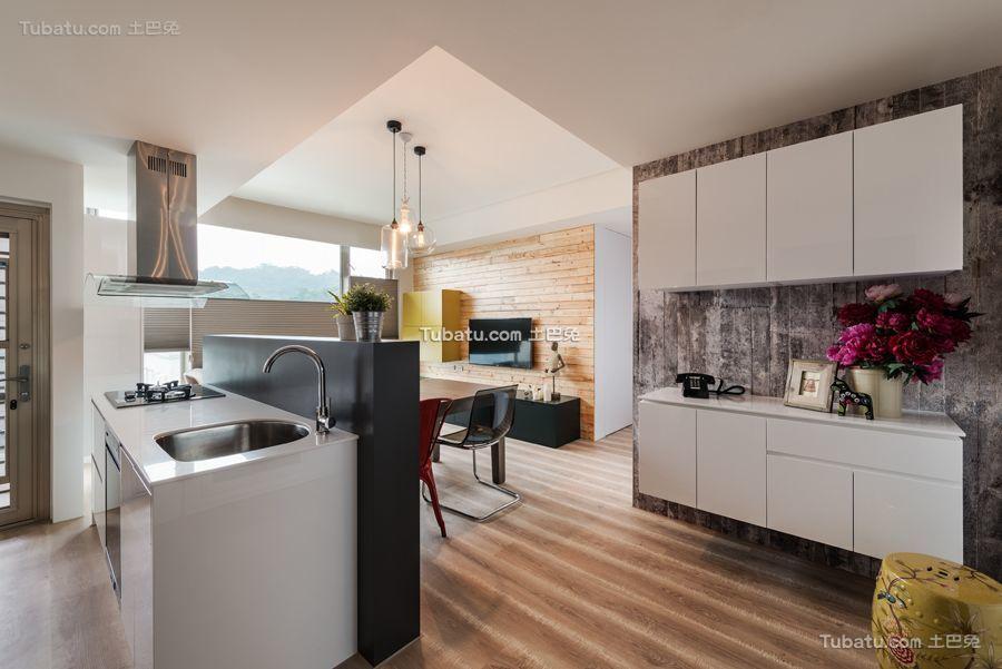 宜家风格公寓家居橱柜设计效果图