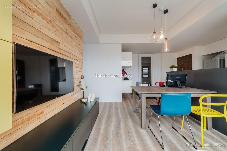 70平宜家风格公寓家居设计效果图