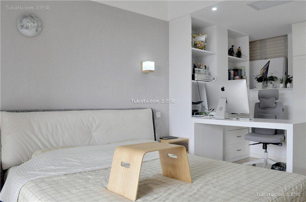 简约卧室房间室内装饰效果图