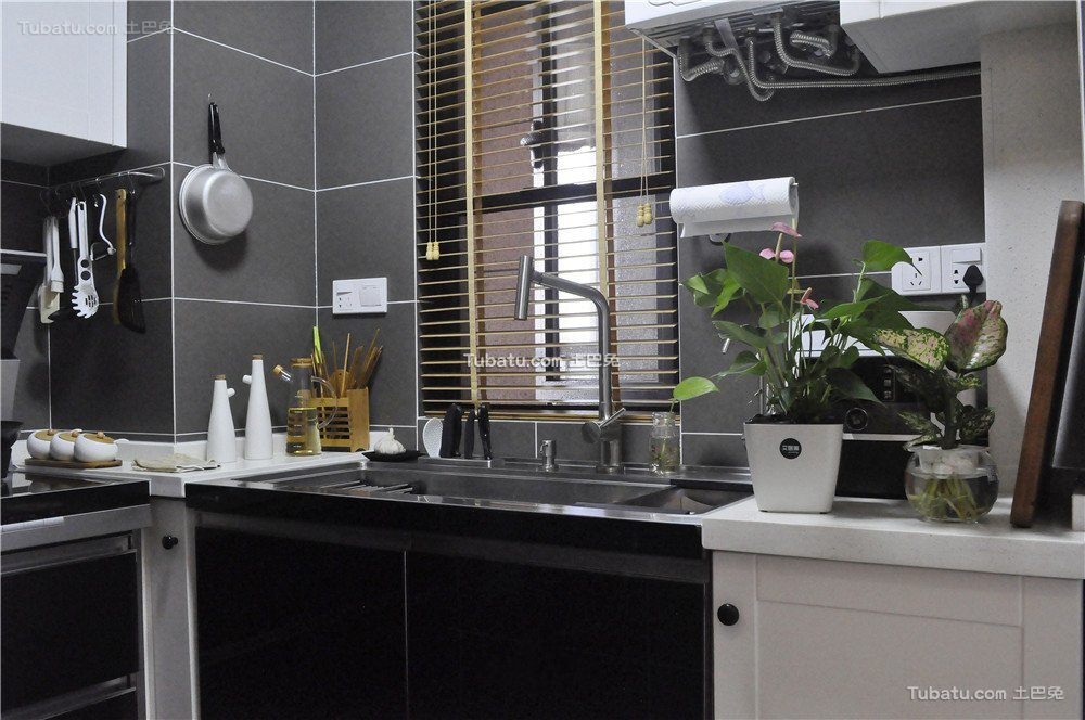 简约厨房室内装饰效果图