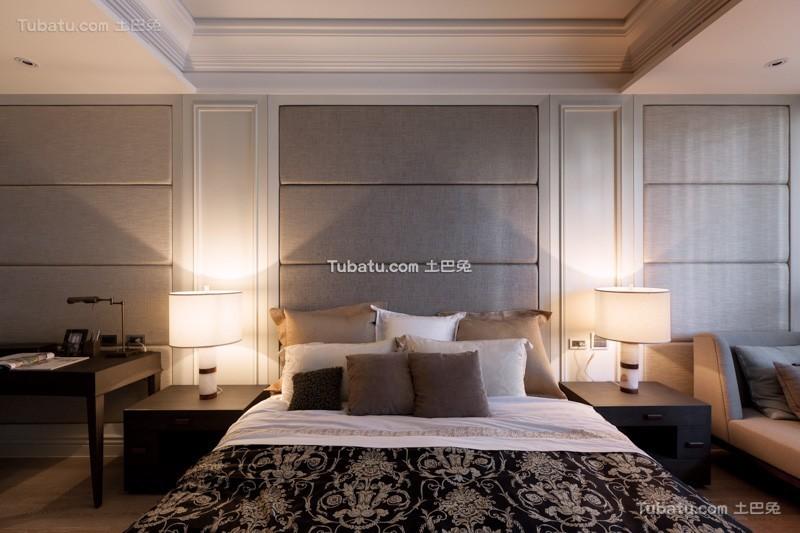 最新美式公寓卧室设计室内效果图