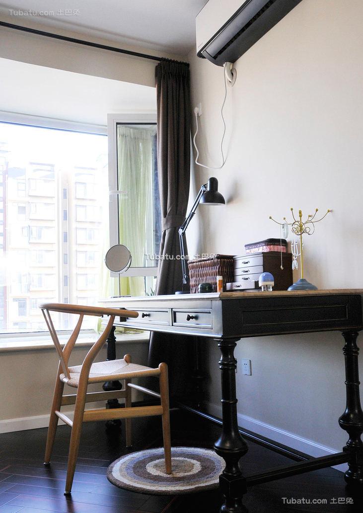 宜家风格室内书房居设计图片