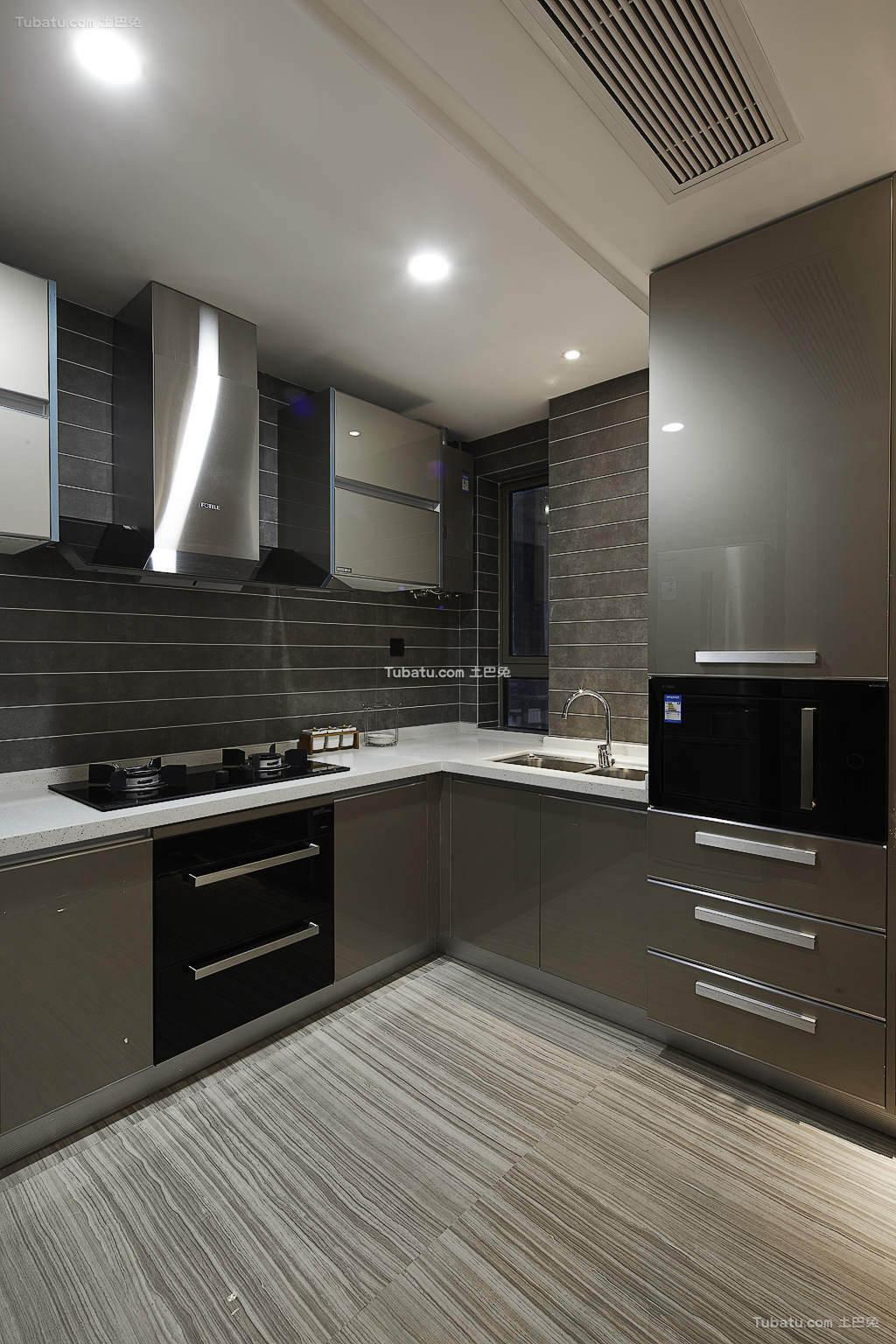 现代厨房设计装修案例