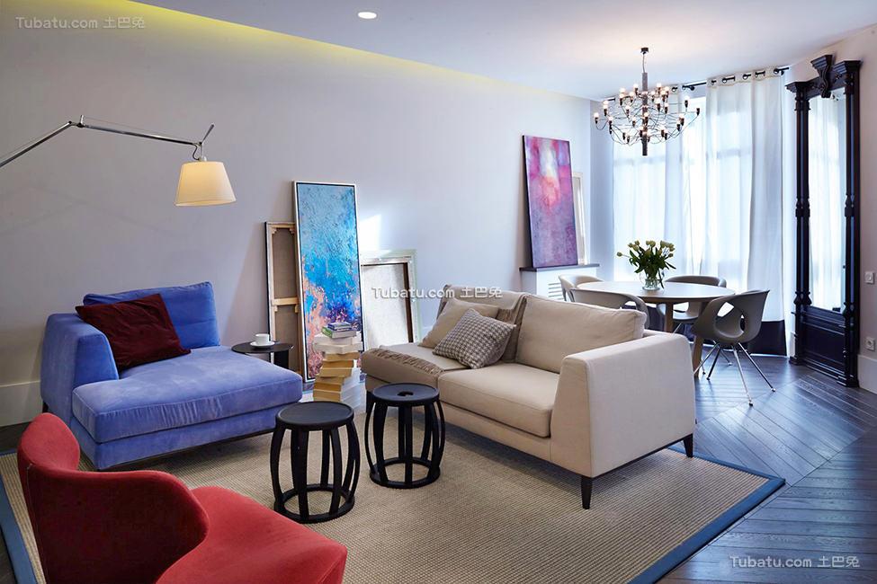 精美现代二居装饰设计大全