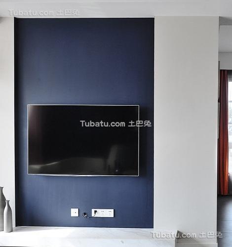 宜家家居电视背景墙效果图欣赏