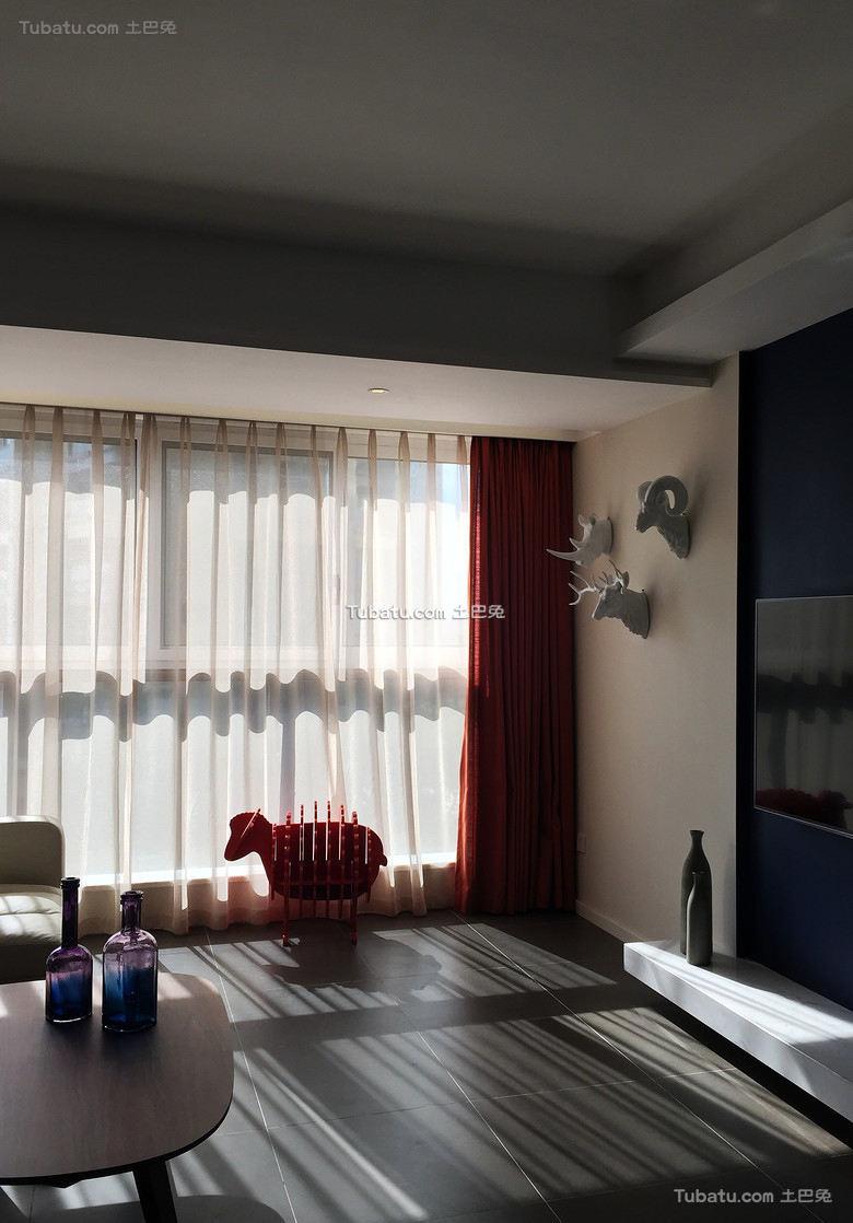 宜家室内窗帘设计效果图