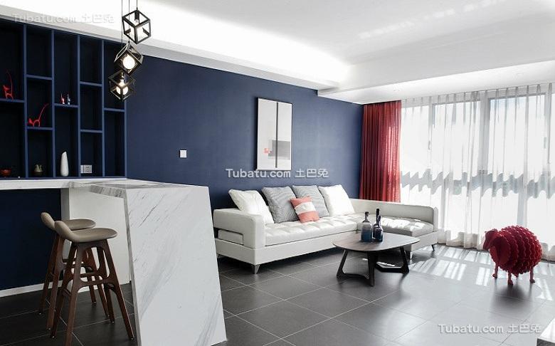 90平米宜家风格两居室设计效果图