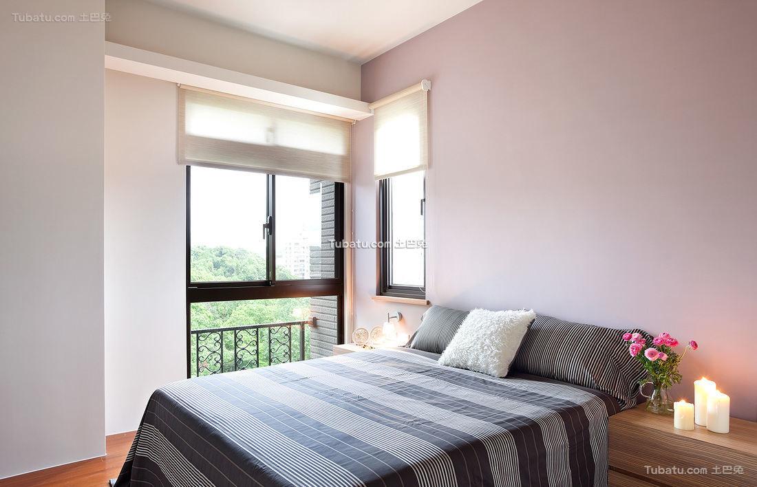 简约风格公寓室内卧室设计效果图