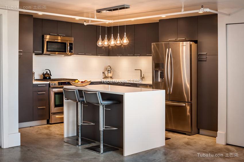 现代家装厨房装潢