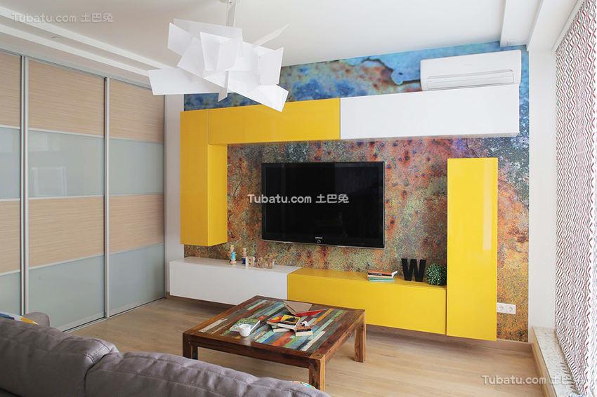 创意现代背景墙设计