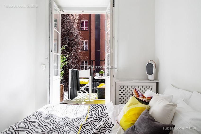 时尚北欧风格卧室家装