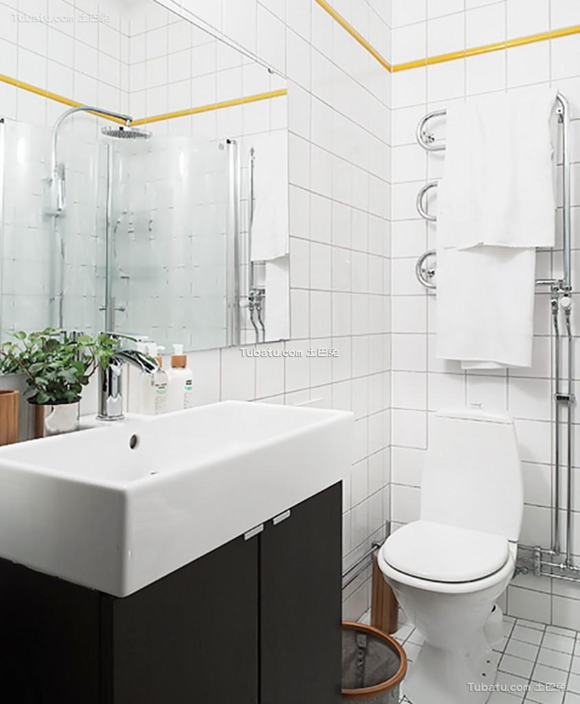 简洁北欧风格家装卫生间