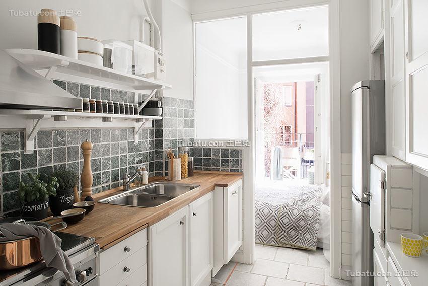 时尚北欧风格家装厨房