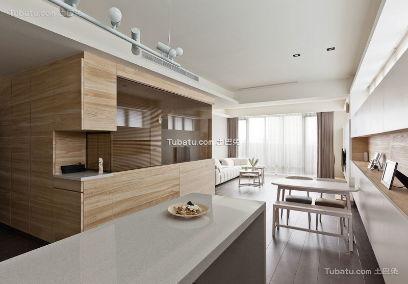 60平时尚简约公寓设计