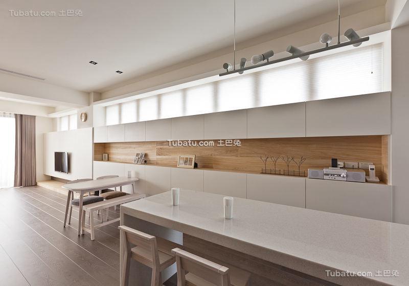 时尚简约餐厨房设计
