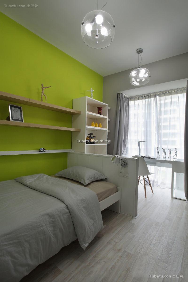 家装室内小卧室书房