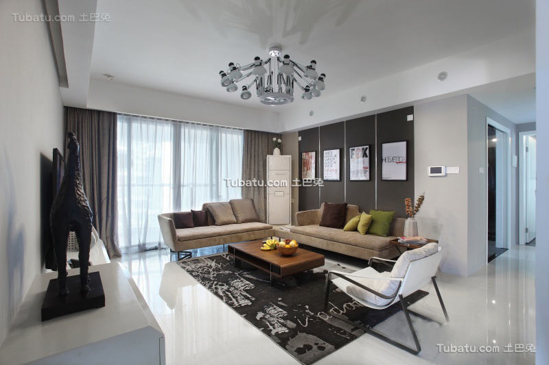 现代时尚设计客厅欣赏大全