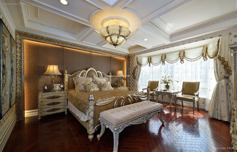 欧式古典豪华卧室设计图