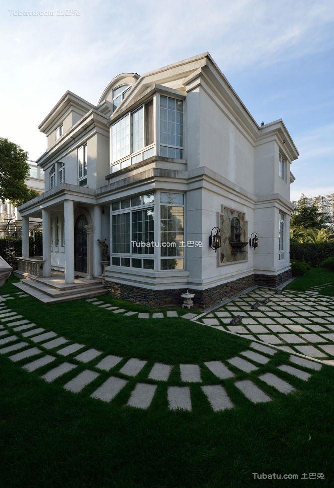 时尚豪华别墅外观设计欣赏