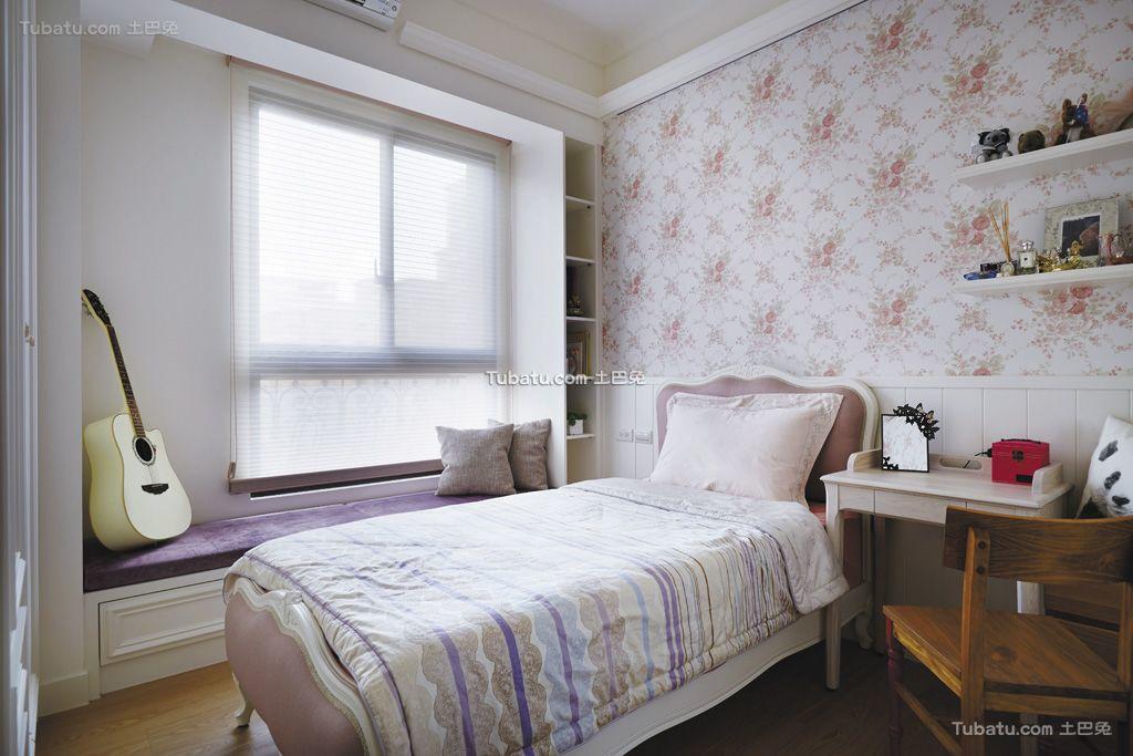 简欧时尚设计3平米卧室