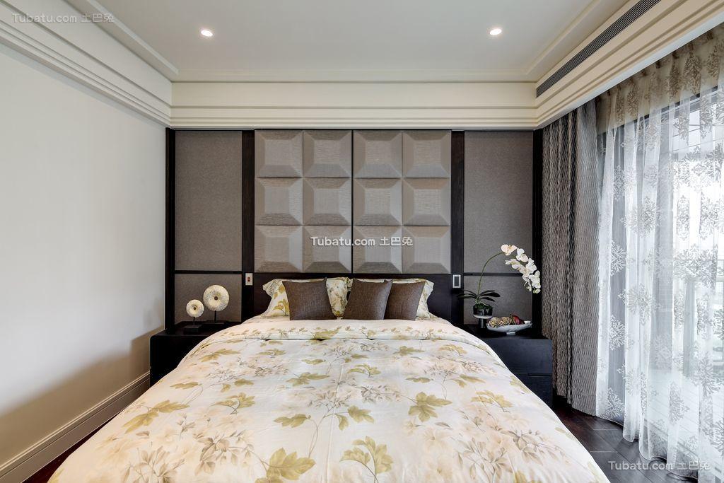 装饰时尚卧室窗帘