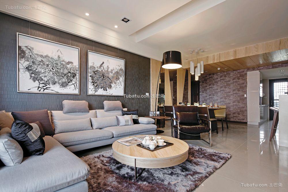 北欧装修8平米客厅大全欣赏
