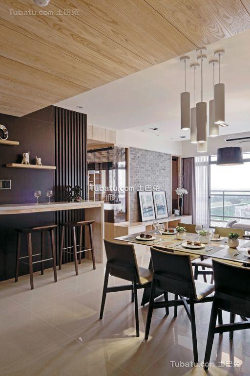 北欧装修室内餐厅样板房欣赏大全