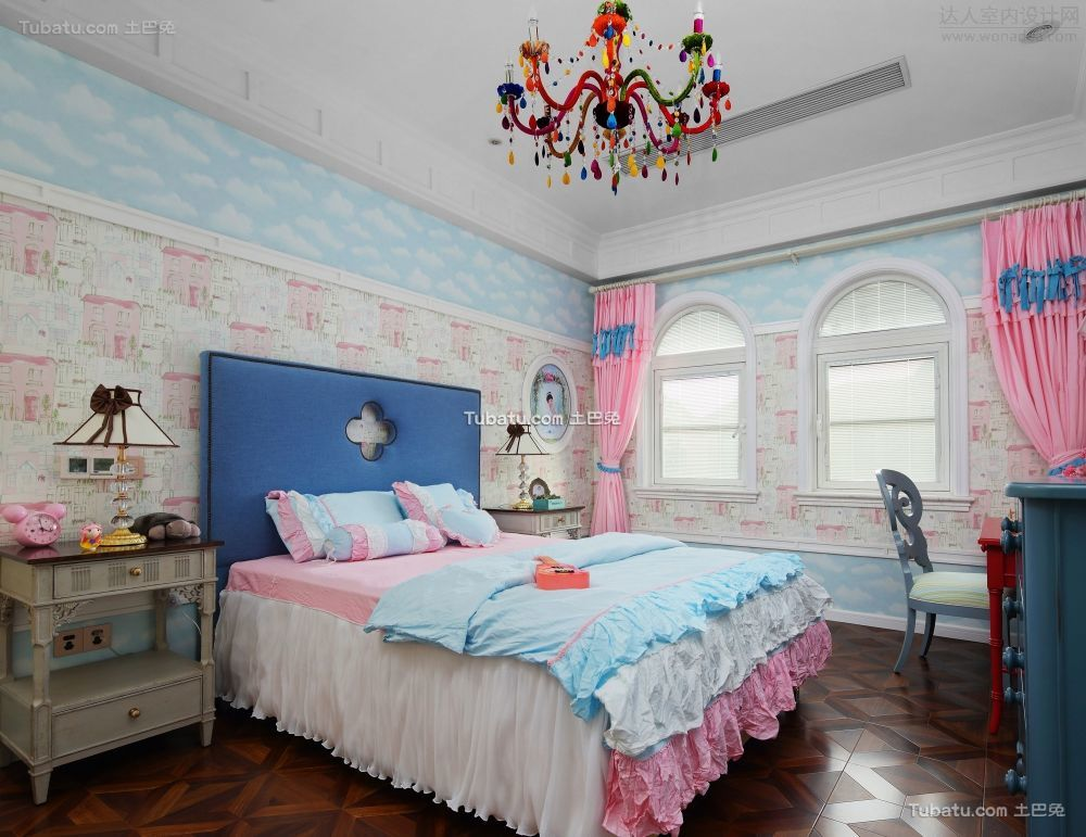 地中海风格家居儿童房装修效果图片