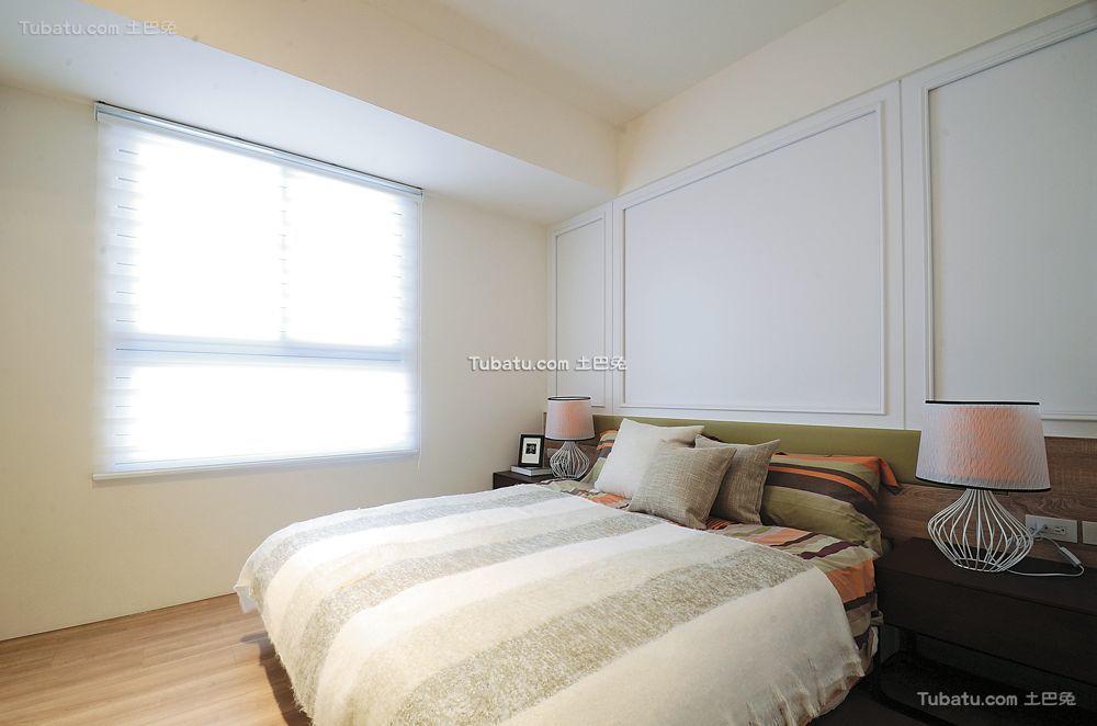现代简约卧室设计装饰效果图