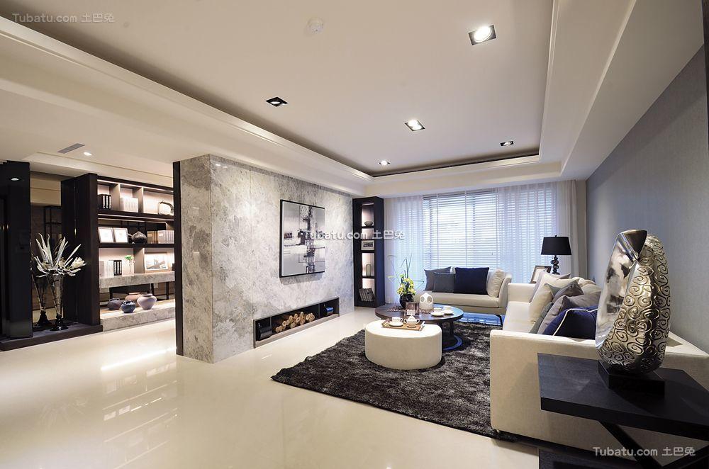 后现代风格两居室设计装饰效果图