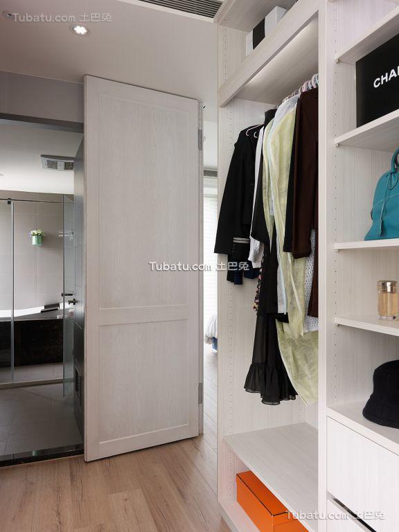 北欧风格衣柜效果图