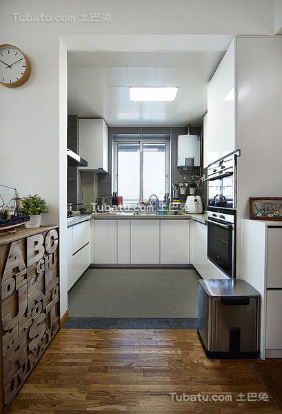 现代简约厨房设计大全