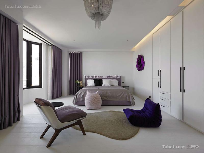 时尚简约风格卧室设计