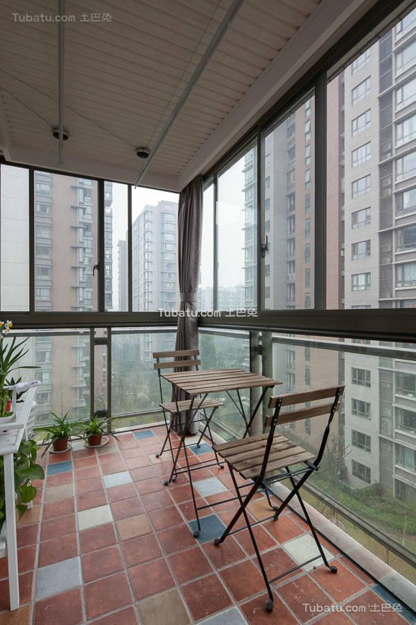 现代阳台装饰室内设计图片