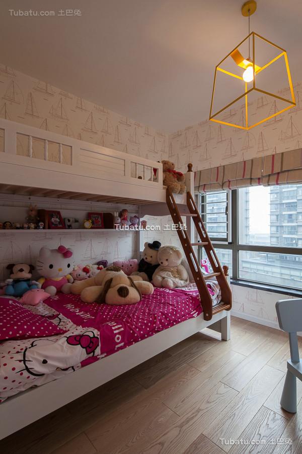 最新美式现代儿童房室内设计图片