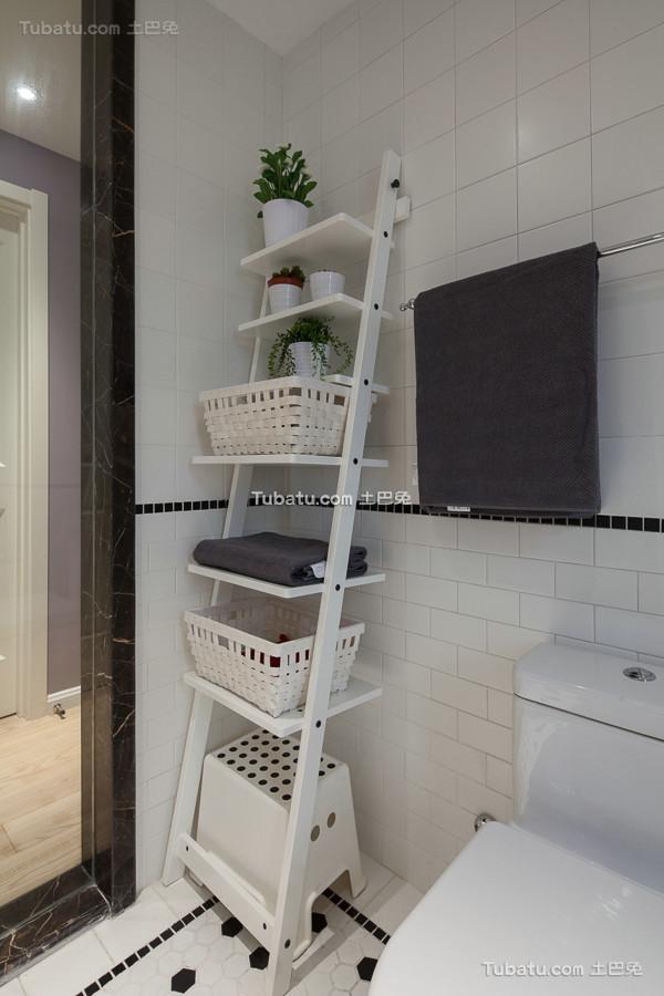 美式家居置物架设计图片